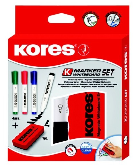 WHITEBOARD SET KORES